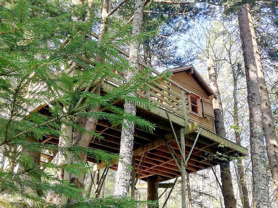 Cabaña en los árboles - alojamiento insólito - Domaine Oz'Arbres