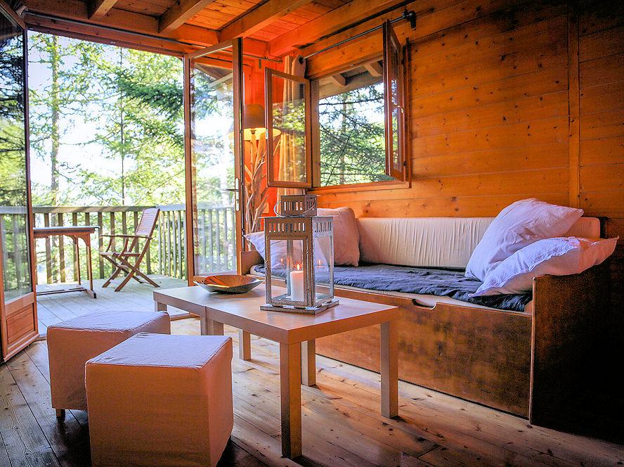 Cabañas Sequoia en lo alto del valle y alojamientos insólitos en los Pirineos Orientales - Domaine Oz'Arbres