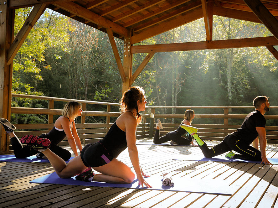 Sport, burn fit, yoga et brunch - La Forêt du Domaine Oz'Arbres