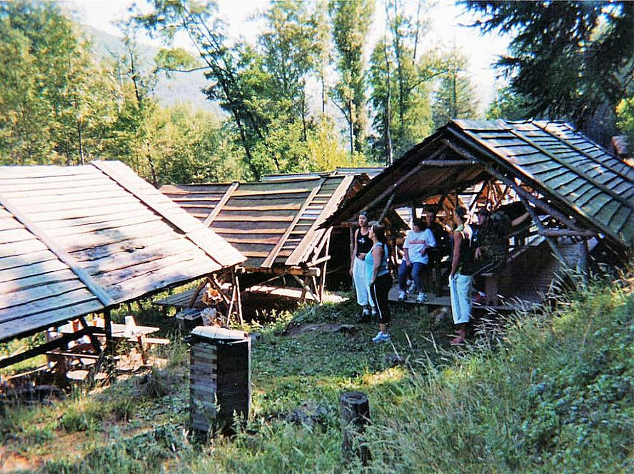 Village carbets - Hébergement Insolite - La Forêt du Domaine Oz'Arbres