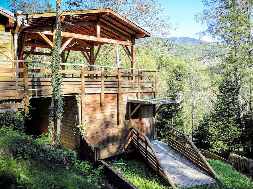 Chalet Accueil - La Forêt du Domaine Oz'Arbres