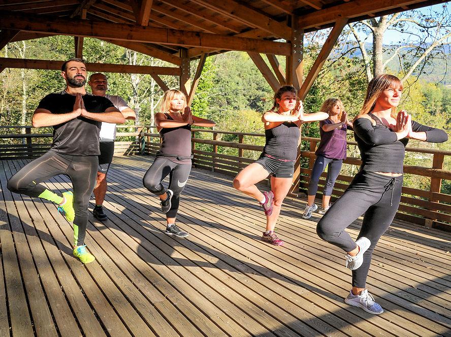 Sport, burn fit, yoga et brunch - La Forêt du Domaine Oz'Arbres